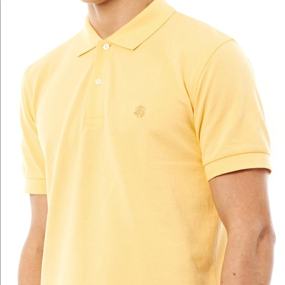 157202cfe Brooks Brothers Other - NEW BROOKS BROTHERS POLO SHIRT YELLOW ORIGINAL FIT